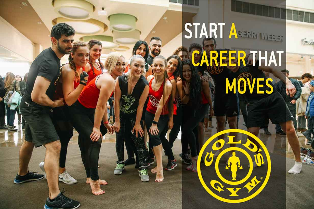 Career vacancy gym